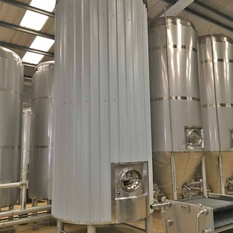 150HL fermentation tanks