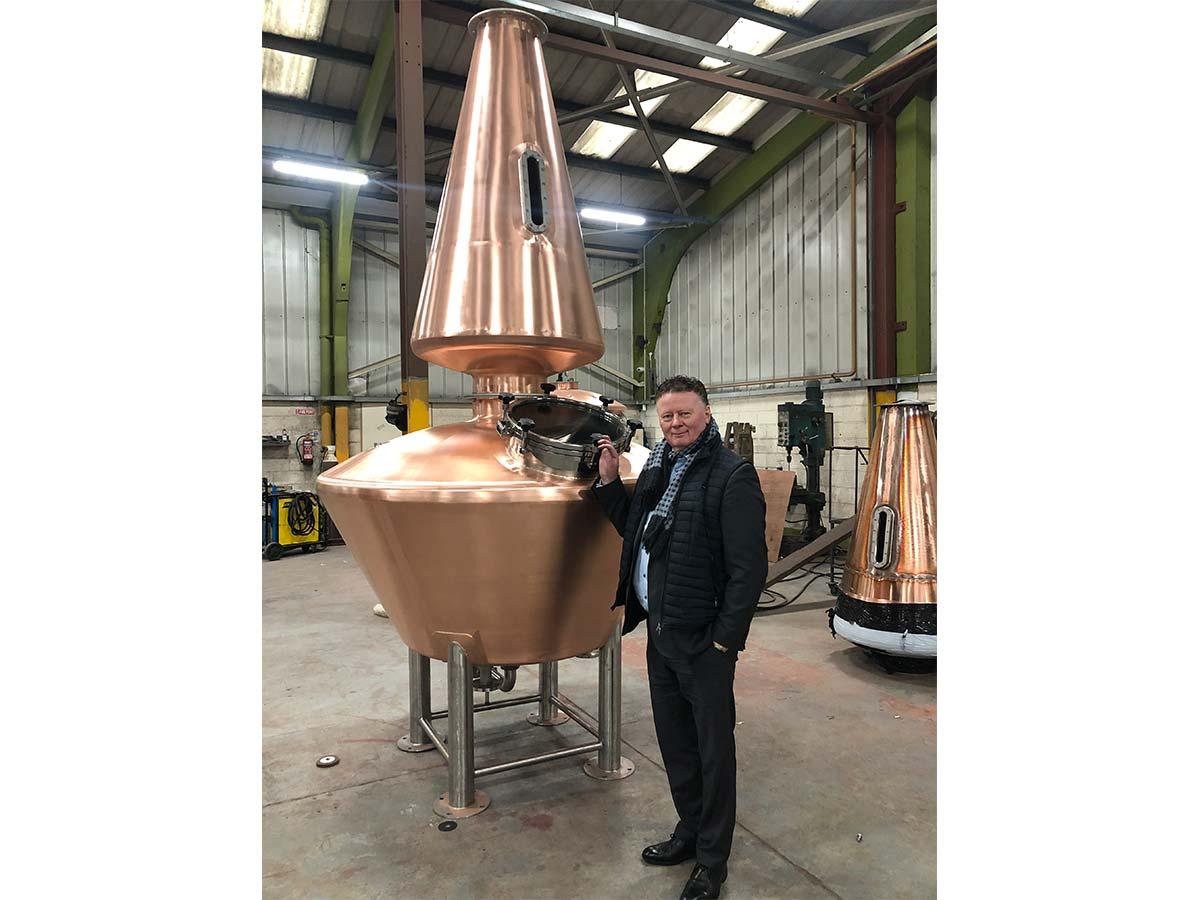 Spectac International Brings Custom Triple Whiskey Distillation Unit to Life