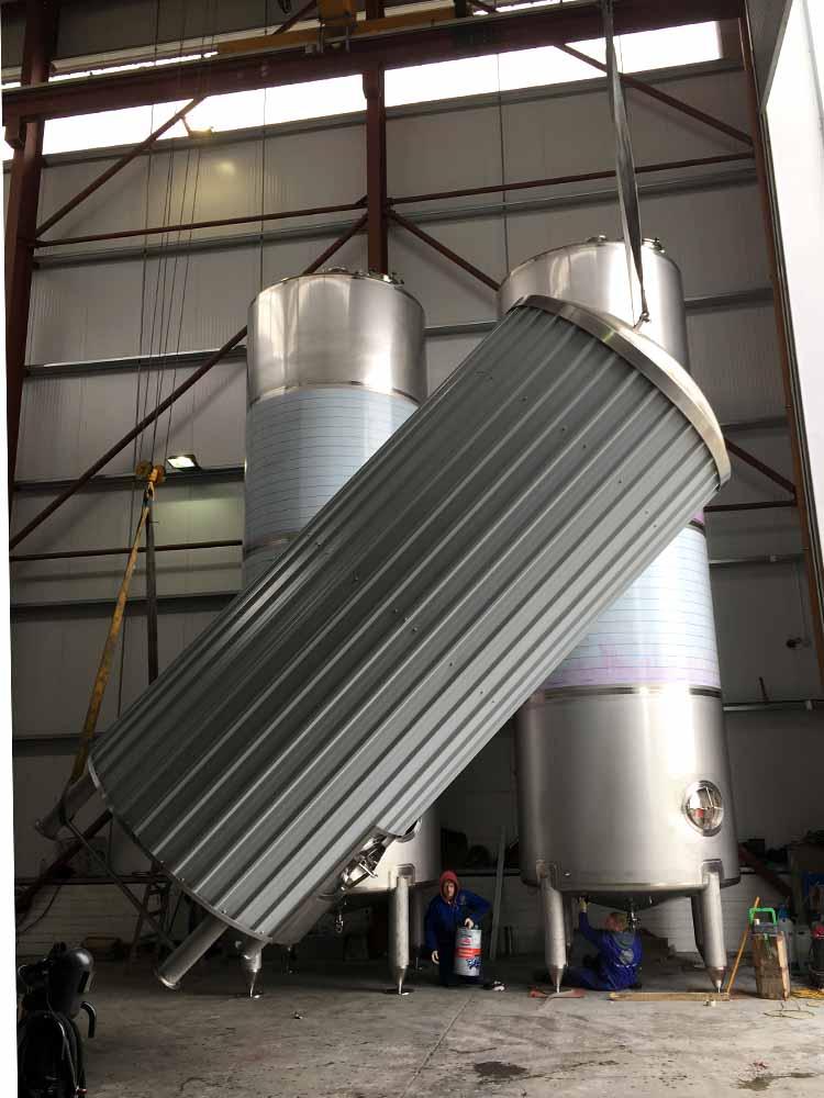150HL Fermentation Tanks